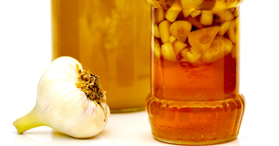 honey garlic ferment
